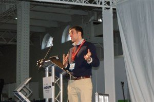Tom McInerney from Etherlive describes some of the new services at an Innovation Seminar