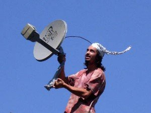 Tinfoil hat Satellite