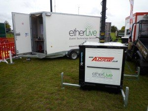 Etherlive ready for it's 4th Showmans Show
