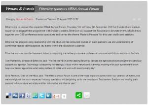 HBAA forum